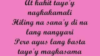 Magkasama By Rydeen w/ lyrics