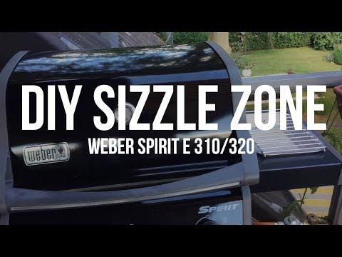 DIY Sizzle Zone am Weber Spirit für nur 60 Euro