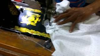 Cara membuat pola dan menjahit baju kemeja anak laki laki BAGIAN V