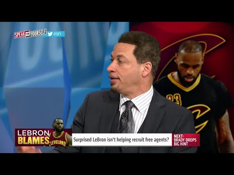 Surprised LeBron James isn't helping recruit free agents? | SPEAK FOR YOURSELF