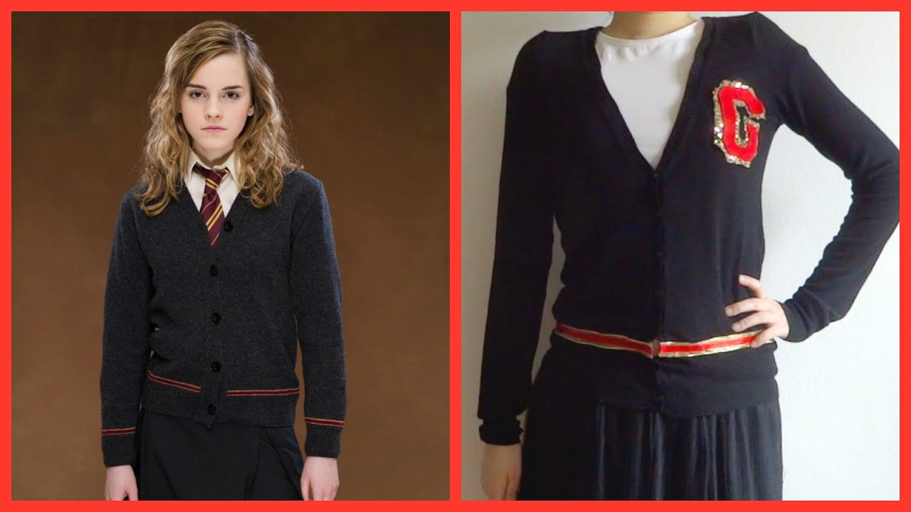 DIY! Do it yourself Harry Potter Hogwarts sweater uniform for ...