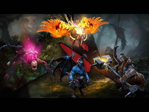 LORE Friendships And Rivalries - Dota 2