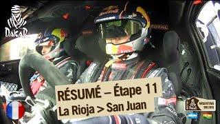 Résumé de l'étape 11 - Auto/Moto - (La Rioja / San Juan)