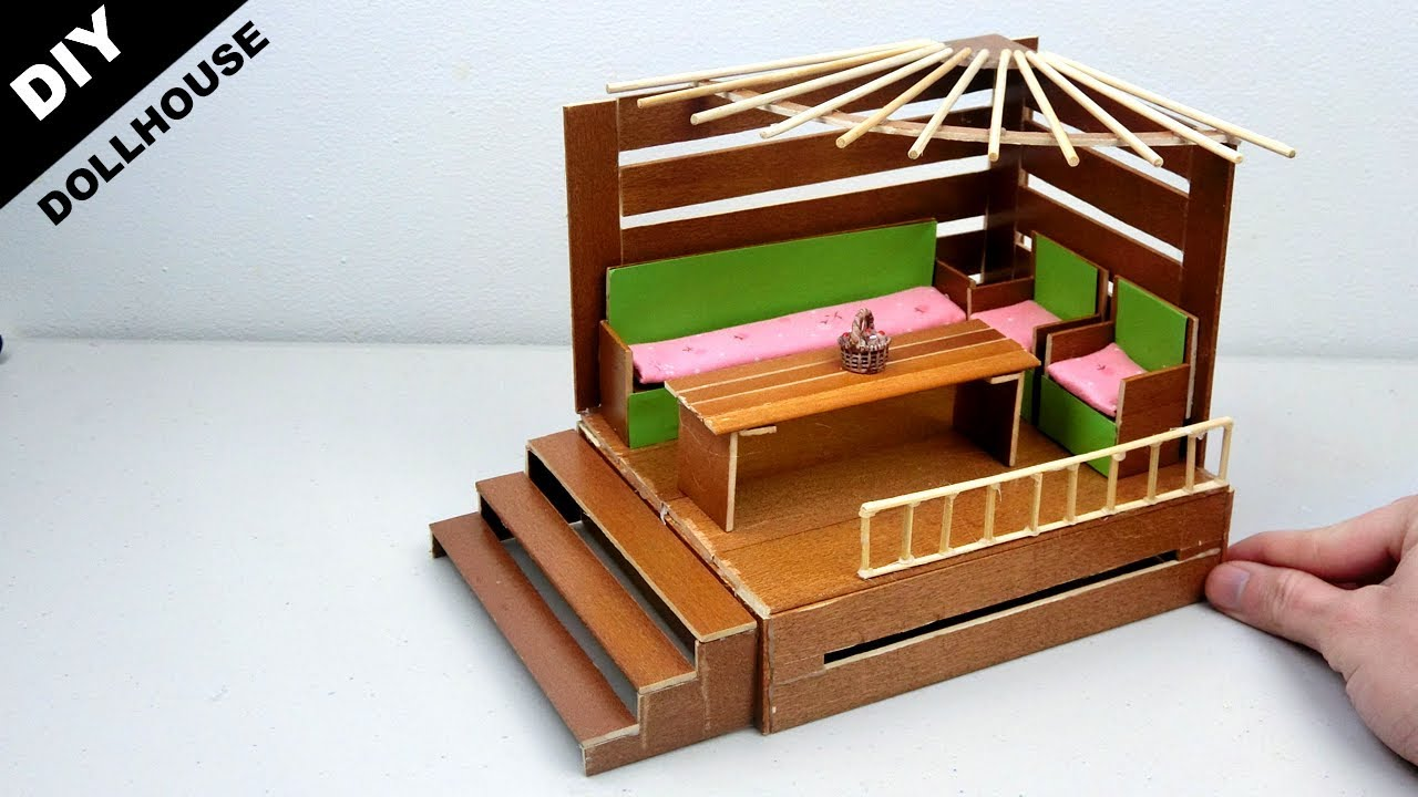 Diy Wooden Dollhouse Living Room 10 Easy Quick Craft Ideas