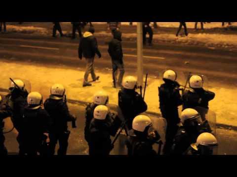 Zamieszki pod JSW (03.02.2015)