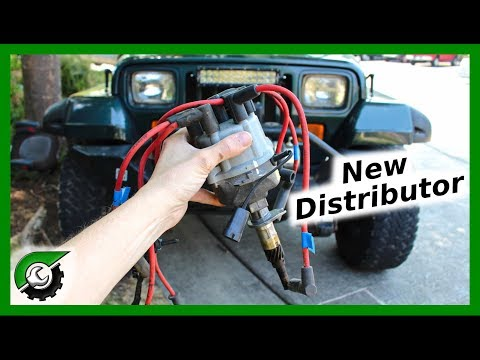 Jeep Wrangler Distributor Replacement