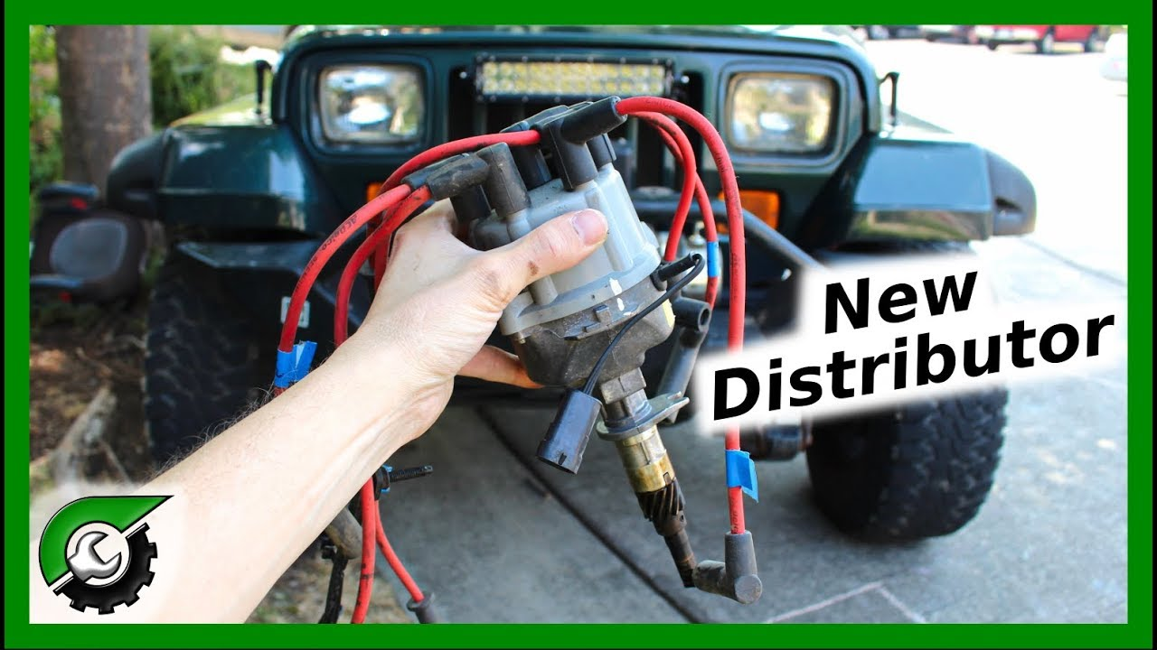 Jeep Wrangler Distributor Replacement Youtube
