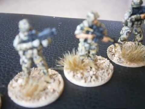 20mm Under Fire Miniatures Helmand 2010 British Infantry