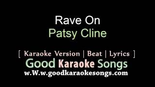 Rave On - Buddy Holly (Lyrics Karaoke) [ goodkaraokesongs.com ]