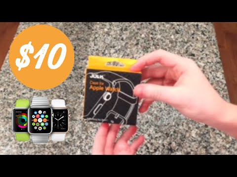 julk-apple-watch-case-unboxing-and-tutorial
