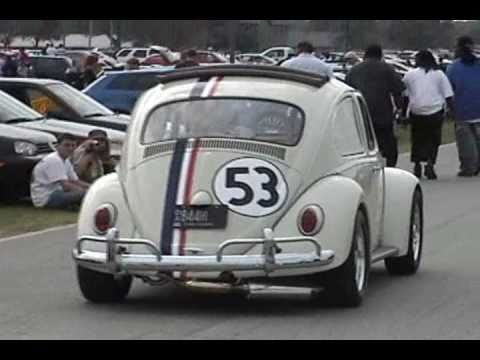 Herbie The Love Bug And Other Cars Youtube