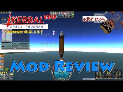 KerbalEDU v 0.0.141 Review | Mod Review | Kerbal Space Program