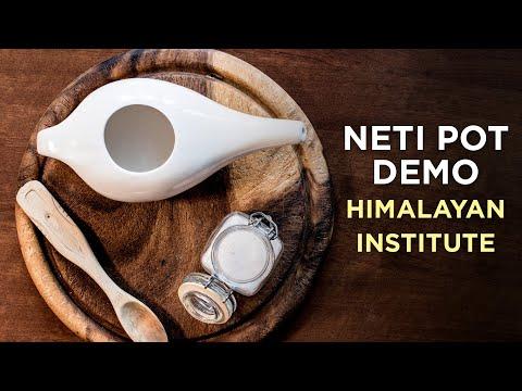 Neti Pot Demonstration