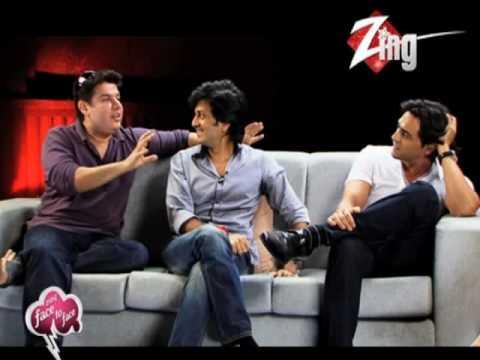 Zing Face To Face_Sajid Khan Ritesh Deshmukh And Arjun Rampal