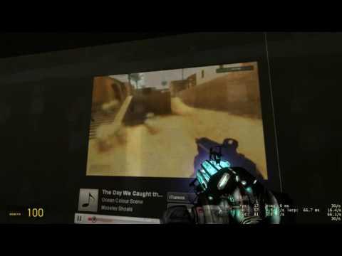 Garry's Mod: YouTube Projector