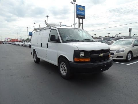 2012 chevrolet express cargo van used commercial vehicles for sale at bobby layman youtube. Black Bedroom Furniture Sets. Home Design Ideas