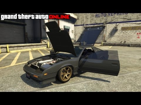 GTA 5 | How To Stance/Lower Your Car & Pop Hood/Trunk
