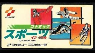 KONAMI SPORTS IN SEOUL / NES/ retro game