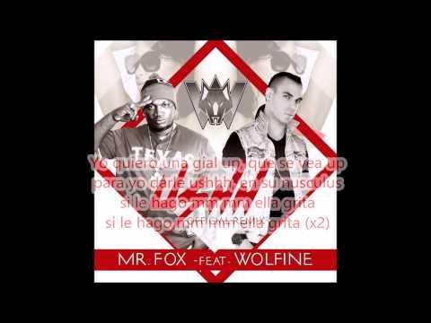 MR FOX feat WOLFINE USHH REMIX letra