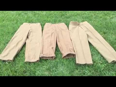 Review Of The ATF Reproduction US Wool Pants.