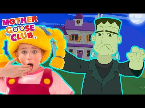 Ghost Family | Scary Halloween Songs for Kids | Mother Goose Club Songs for Children