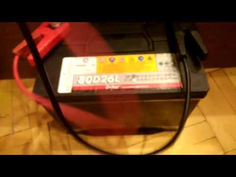 Проверка пускового тока на АКБ Delkor 80D26L - Смешные видео приколы
