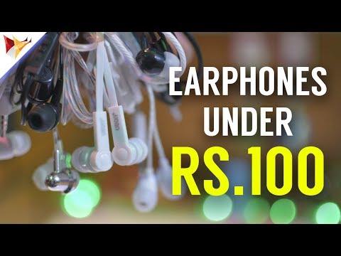 Best Budget Earphones Under Rs.100/- | Data Dock