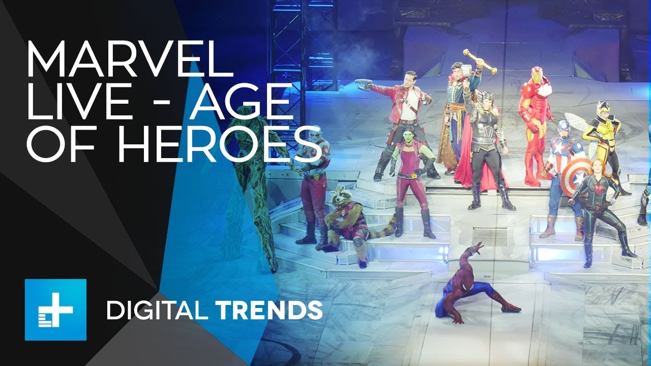 Marvel Live – Age of Heroes