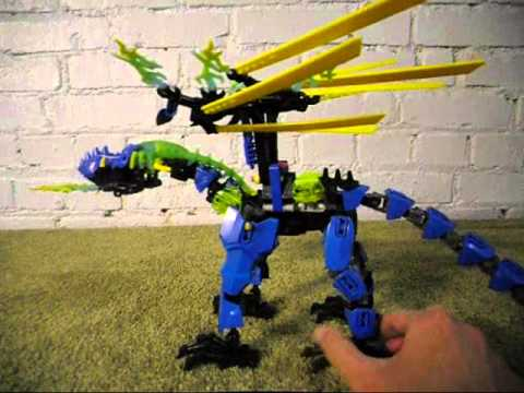 LEGO Hero Factory Revamp: Dragon Bolt - YouTube