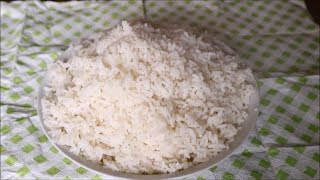 How to cook the perfect white rice