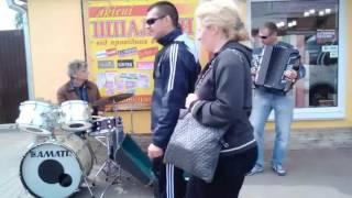 Винница. фрейлик,  полька,  вуличні музики, уличные музыканти