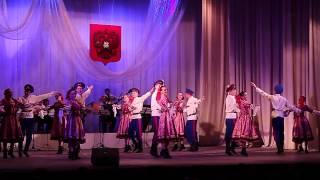 """Танцевальный номер ансамбля """"Донские казаки"""""""