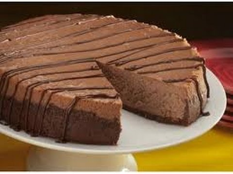 Dolce estivo cheesecake al cioccolato,Quick recipe chocolate cheesecake,快速配方巧克力芝士蛋糕,