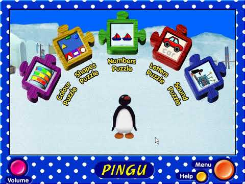 Pingu: A Barrel Of Fun! (PC Game)