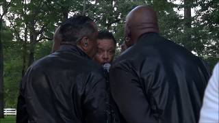 The Temptations - Backstage at the Shenandoah Valley Music Festival