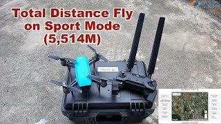 DJI Spark ARGtek Omni-directional Range Test Total Distance 5,514M