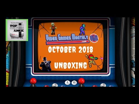 Video Games Monthly Unboxing October 2018 Subscription Box Review