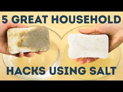 5 Life Hacks To Do With Salt L 5-MINUTE CRAFTS