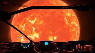 Elite Dangerous Visiting Betelgeuse