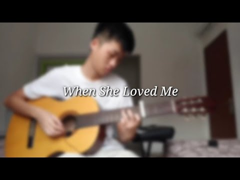 *FREE TABS* When She Loved Me -Katelyn Lapid [fingerstyle Guitar]