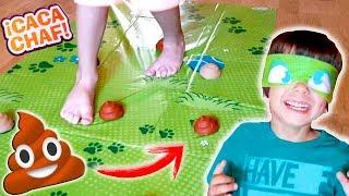 CACA CHAF! 💩 NO PISES LA CACA!! juegos en familia para niños 💩 NO LA APLASTES!