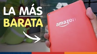 ¡LA TABLET MÁS BARATA! | Amazon Fire ;)