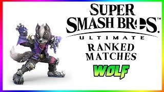 Eyes Bigger Than Your Stomach Wolfy | Ranked Matches with Wolf | Super Smash Bros Ultimate