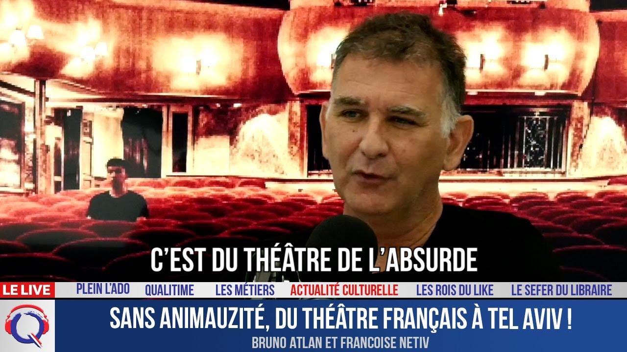 Sans Animauzité, du théâtre français à Tel Aviv ! - Actuculture#272