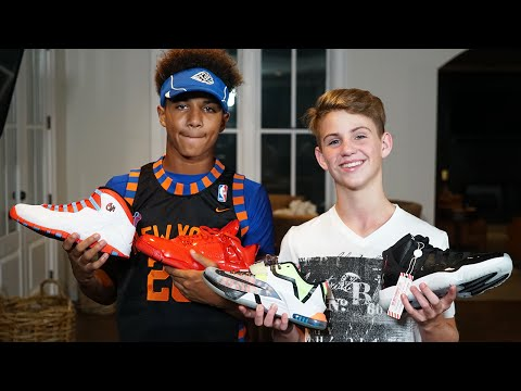 Favorite Shoes + New Accent? (ft. Justin)