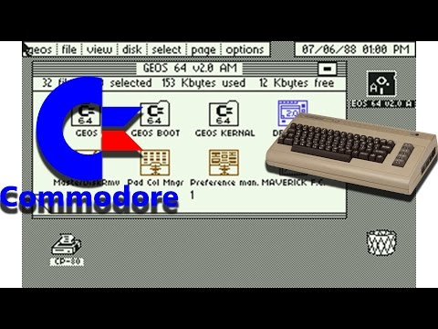 GEOS | GUI Based OS For The Commodore 64 from 1986 | Retro Tech