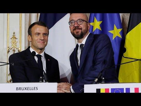 ماكرون يستكمل زيارته الأوروبية في بلجيكا.. وأوروبا -موحدة وقوية- على رأس الأولويات…  - نشر قبل 2 ساعة