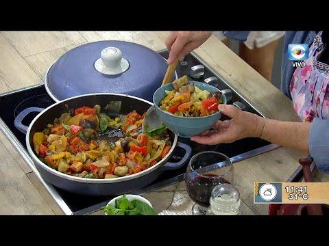 Salsa de verduras para pasta