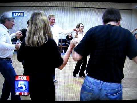 Yoni Carr's Israeli Folk Dancers On The News