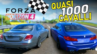 Nuova MERCEDES E63 vs BMW M5 - Forza Horizon 4